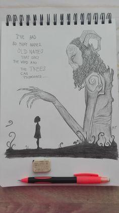 Pan´s Labyrinth Old Names, Positivity, Illustrations, Drawings, Art, Art Background, Illustration, Kunst, Sketches