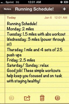 This Running Schedule is very simple but can help you get results fast and build endurance quickly! By running you stay motivated to make healthy choices and be productive.