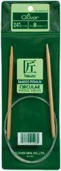 Bamboo Circular Knitting Needles 24in Size 5 (3.75mm)