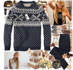"""So Please Just Fall In Love With Me, This Christmas, There's Nothing Else That I Will Need, This Christmas, Won't Be Wrapped Under A Tree, I Want Something That Lasts Forever So Kiss Me On This Cold December Night."" by xoxo-lindsey ❤ liked on Polyvore"