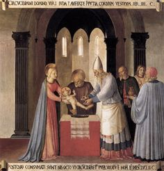Circumcision, 1451-52 | Tempera on wood, 38.5 x 37 cm | Museo de San Marco, Florence | Fra Angelico