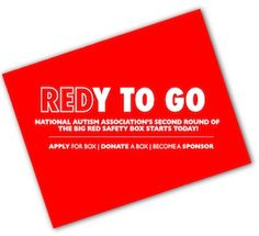 Keeping our little wanderers SAFE - Big Red Safety Box by the National Autism Association
