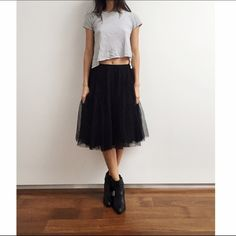 All Saints Tulle Skirt Amazing All Saints Tulle/Mesh Skirt. Super rich and detailed. Soft and fluid. All Saints Skirts