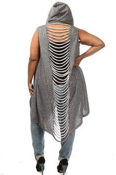 Plus Size Razor Back Terry Cardigan Stylish Plus Size Clothing, Trendy Plus Size Fashion, Plus Size Outfits, Plus Fashion, Fall Fashion Trends, Autumn Fashion, Witch Fashion, Curvy Plus Size, Plus Size Beauty