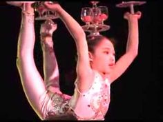 Chinese acrobatic troupe performs juggling and incredible balance acts -- amazing -- Xian, China - YouTube