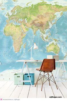 Wallpower Junior landkaart