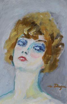 Kees van Dongen - Visage de Femme  www.artexperiencenyc.com