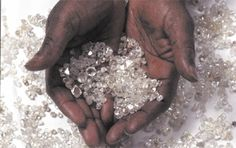 raw diamonds from Ségouéla Ivory Coast, Old And New, Articles, Jewels, African Countries, Africa Travel, Solar Energy, Jewerly, Gemstones