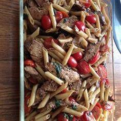 tastycookery | Balsamic Chicken and Pasta