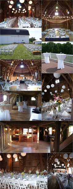 Venue: Avon Century Barn in Avon, NY. No independent website, I guess we'd have to book through this caterer?