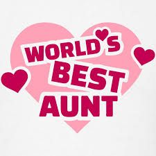 World's best aunt with hearts Stock Illustration , Best Aunt, Best Sister, Best Mom, Heart Clip Art, Sisters By Heart, Heart Illustration, Three Words, Burger King Logo, Free Illustrations