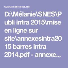 D:\Mélanie\SNES\Publi intra 2015\mise en ligne sur site\annexesintra2015 barres intra 2014.pdf - annexesintra2015_barres_intra_2014.pdf