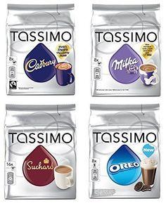 Tassimo Hot Chocolate Mega Pack - Cadbury, Oreo, Milka, Suchard Pods Discs - 40