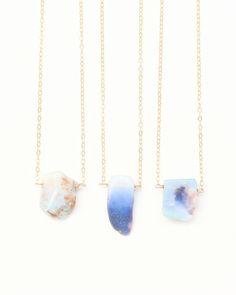 Natural Opal Necklace - JewelMint