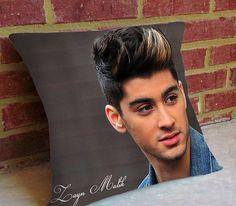 Beautiful Zayn Malik One Direction  Pillow by coucointcustomart