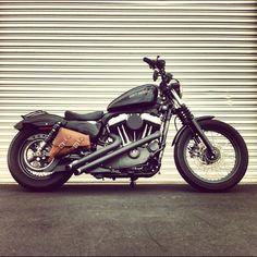 Saddlebags! #harleydavidsonchoppersoldschool #motorcycleharleydavidsonchoppers