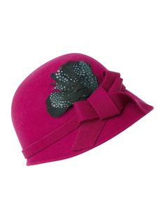 99bd546b90c Dickens and Jones cloche hat. For those with more of an Auntie Mame spirit.