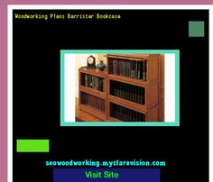 Woodworking Plans Barrister Bookcase 174558 - Woodworking Plans and Projects!