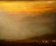 """Saatchi Art Artist Maurice Sapiro; Painting, """"Valley Sunset"""" #art"""
