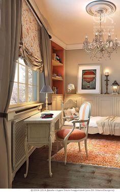Детская комната для девочки 12-15 лет в квартире
