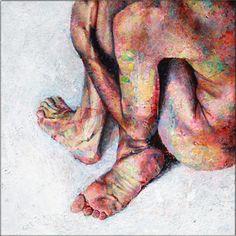 Intimacy (2012) by David Agenjo, Acrylic on canvas [http://www.davidagenjo.com]