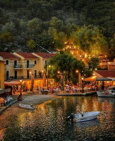 Kioni. Ithaka.. Greece
