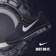 Nike Air Max 2017 Black Leather Women Men Shoes [airmax2017-106] - $66.98 : | nike | Scoop.it
