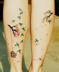 Resultado de imagen para legs tattoo girl