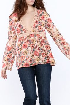997cc41a08fb5 Shoptiques Product  Fairy Blouse - main Bell Sleeve Top