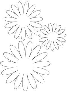 Šablony květin | i-creative.cz - Kreativní online magazín a omalovánky k…