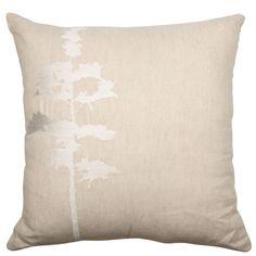 45x45cm Forest cushion Natural