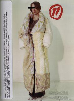 margiela fw 1999 duvet coat