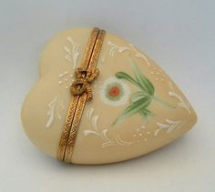 Limoges heart box
