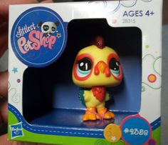 NEW Hasbro Littlest Pet Shop Special Edition Sparkle Rooster 2358 Retired NIP #Hasbro