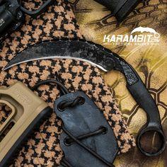 The Sage Blades Vanadium Viper Wrench Karambit