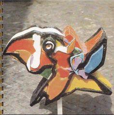 Karel Appel bird, executed by Structuur 68...