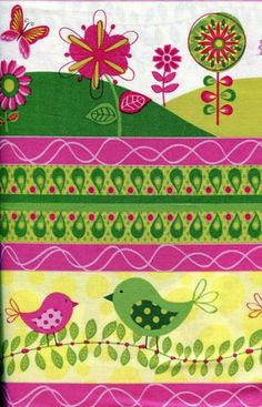 Meadow Melody Border Stripe