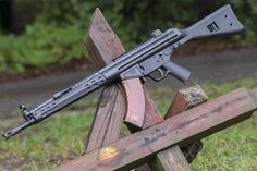 The PTR 32, a HK chambered in 7.62x39 and feeds off AK magazines! I want so bad!