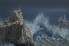 The captivating paintings of artist Joel Rea presents a take on surrealism that is nothing short of awe-inspiring. The richly colored scenes that Rea creates look like stills from a vivid dream, fe… Illusion, Giant Waves, Hyper Realistic Paintings, Melbourne Art, Surrealism Painting, Photorealism, My Tumblr, Australian Artists, Sculpture