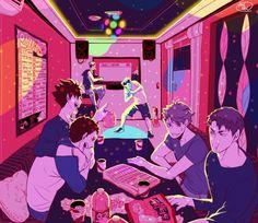Haikyuu||| Sawamura Daichi, Kuroo Tetsurou, Bokuto Koutarou, Terushima Yuji, Oikawa Tooru, Ushijima Wakatoshi, Captains:)
