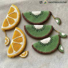 De Croche De Croche barbante De Croche com grafico De Croche de mao De Croche festa - Bolsa De Crochê Crochet Diy, Crochet Food, Love Crochet, Crochet Gifts, Crochet Handbags, Crochet Purses, Crochet Bags, Crochet Designs, Crochet Patterns