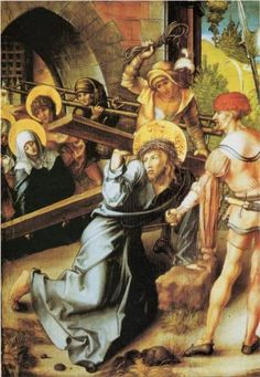 Fourth Sorrow of Mary: The meeting of Jesus and Mary on the Way of the Cross
