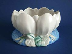 Clarice Cliff Newport Pottery 'Water Lily' Bowl c1939