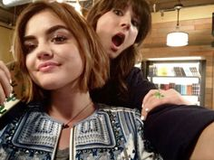 Troian and Lucy