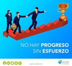 En CICDE nos esmeramos por brindarte soluciones adecuadas para las necesidades especificas de tu empresa. Ponemos a tu disposición a nuestro equipo de expertos.  #FelizViernes #SeQueHoy #CDMX #Empresas No hay progreso sin esfuerzo