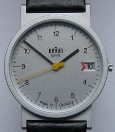 Relojes Braun