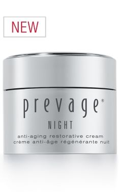 PREVAGE Night Anti-aging Restorative Cream, $132 (http://shop.elizabetharden.com)