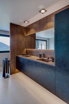Lofts, Corten Steel, Bathroom Interior, Bathtub, Architecture, Kitchen, House, Bathrooms, Container