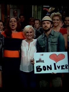 Justin Timberlake loves Bon Iver (me too!)
