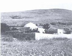 Nablus-نابلس: صورة قديمة لمقام النبي يوسف